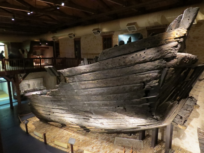 Hull of the Batavia shipwrecked 1628