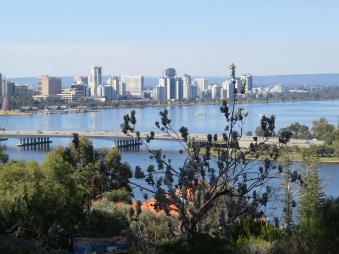 Perth cityscape from King's Park