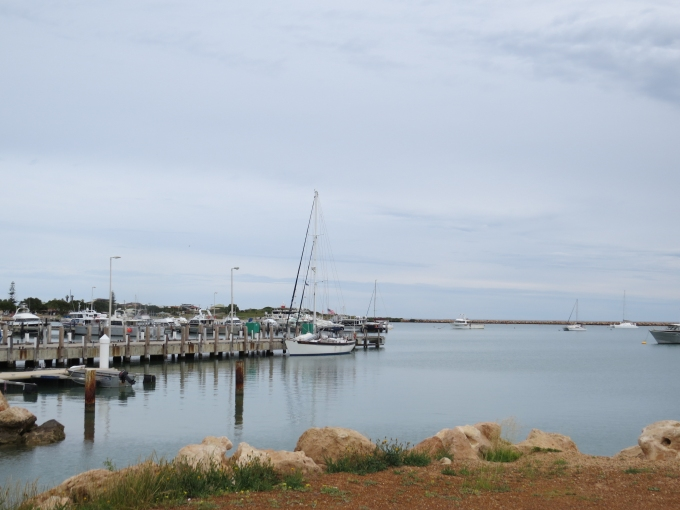 Calm anchorage at Port Denison
