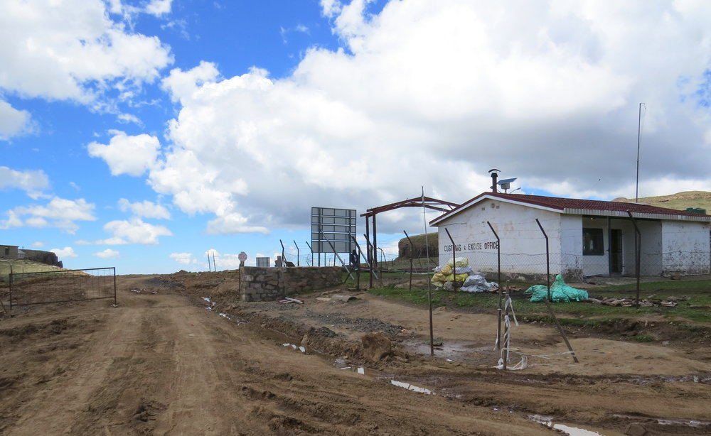Lesotho Border Post