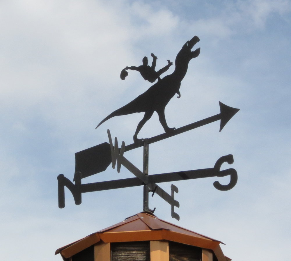 Dino cowboy - Vernal, Utah