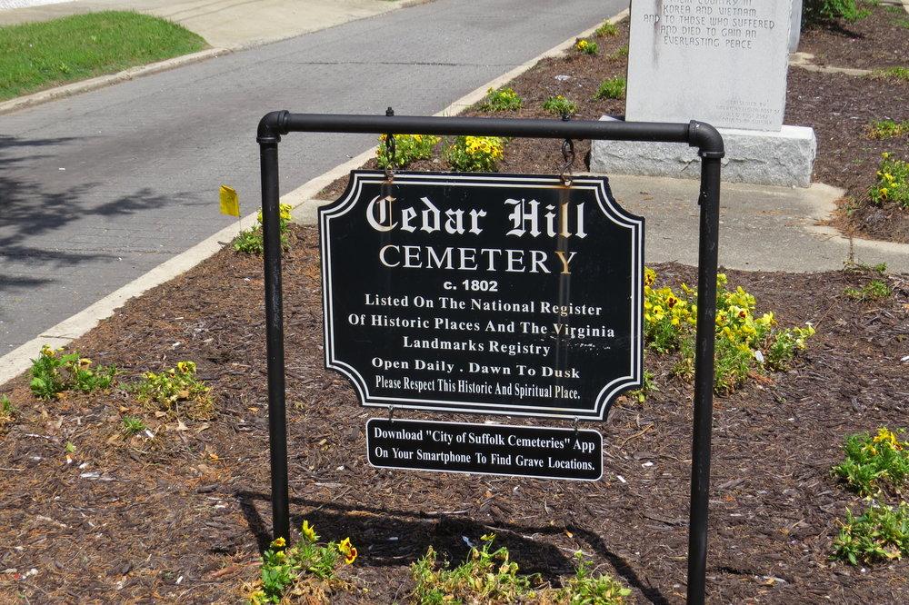 suffolk_cedar hill cemetery sign.JPG