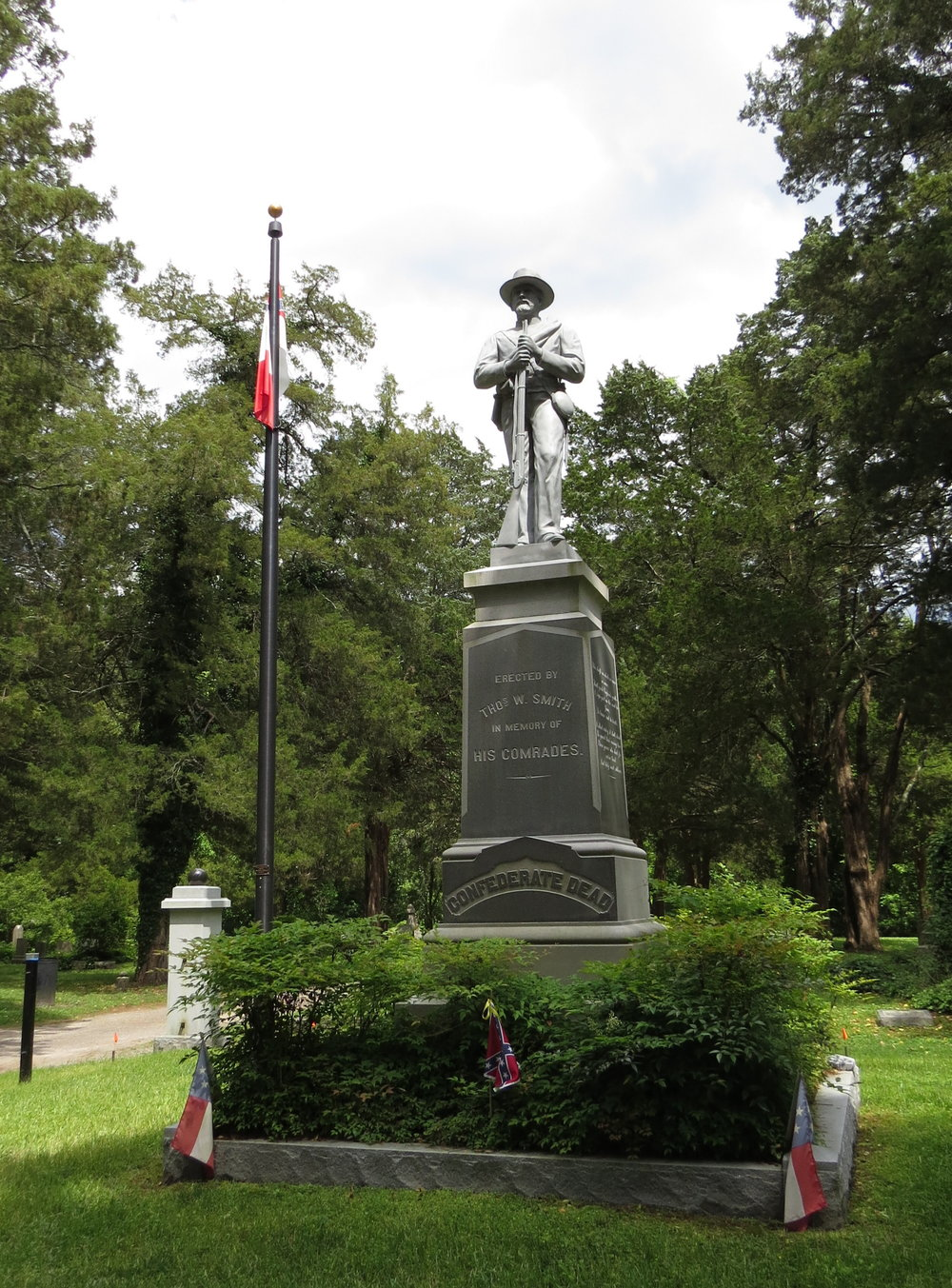 Monument to Confederate dead