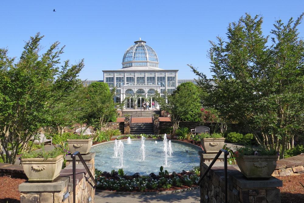 Lewis Ginter Botanical Gardens Conservatory