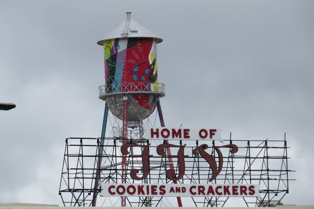 FFV Cookie Lofts Sign