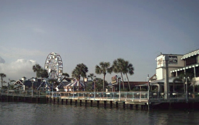 Leaving Kemah, TX - May 21, 2000
