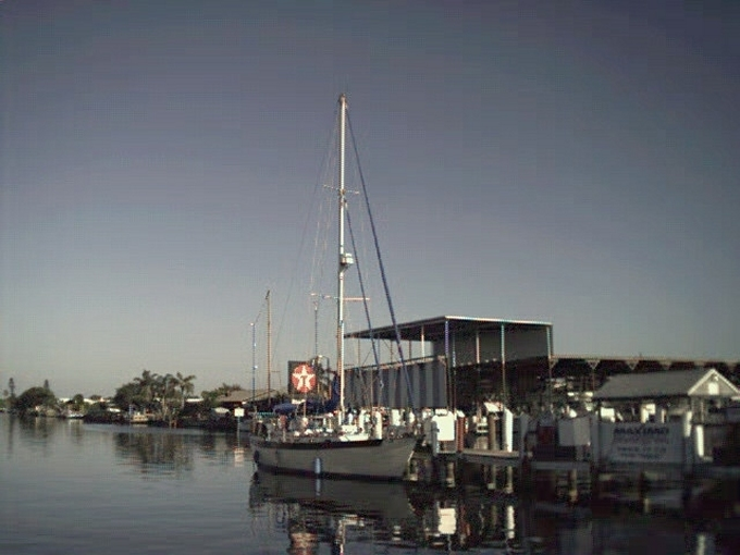Nine of Cups docked in St. Pete