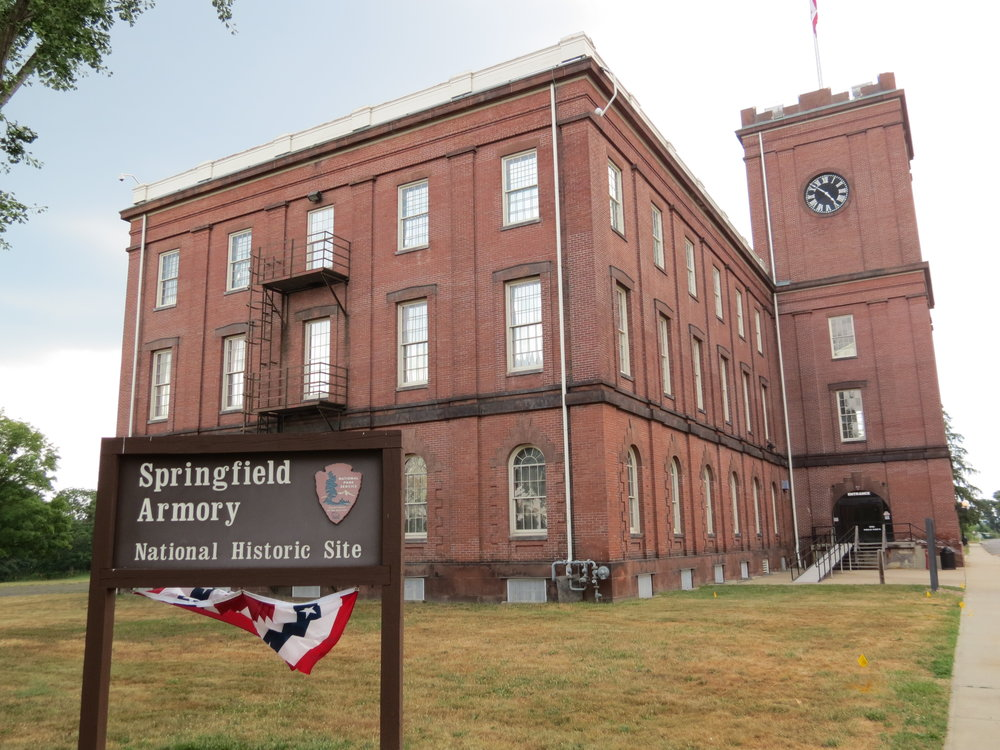 Springfield Armory National Historic site  - Springfield, MA - 2012