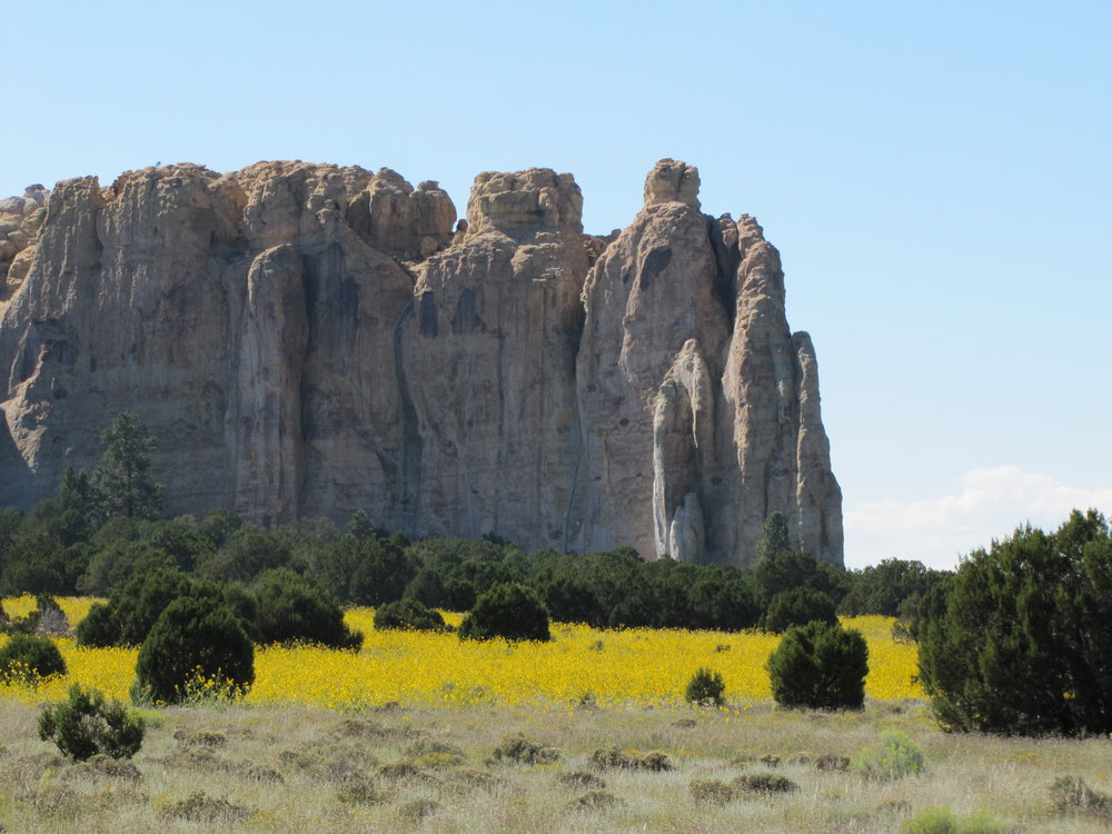 El morro national monument  - new mexico - 2010
