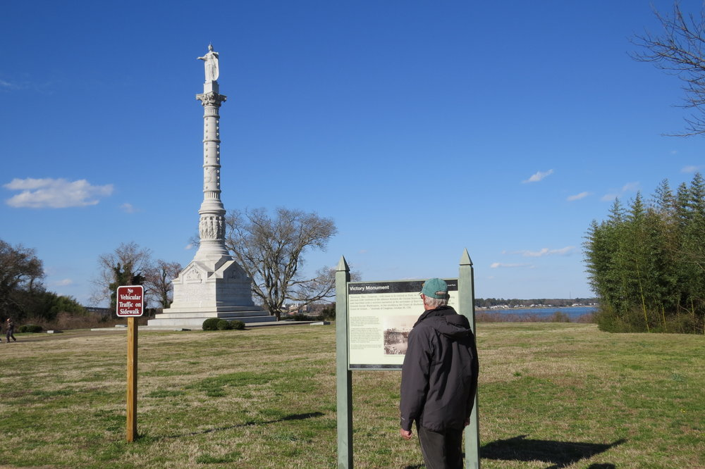 colonial national historical park -   yorktown battlefield   - yorktown, VA - 2017