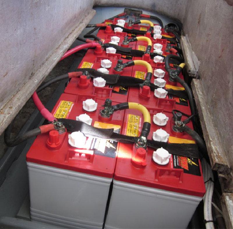 House battery bank