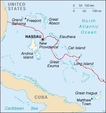 Bahamas route