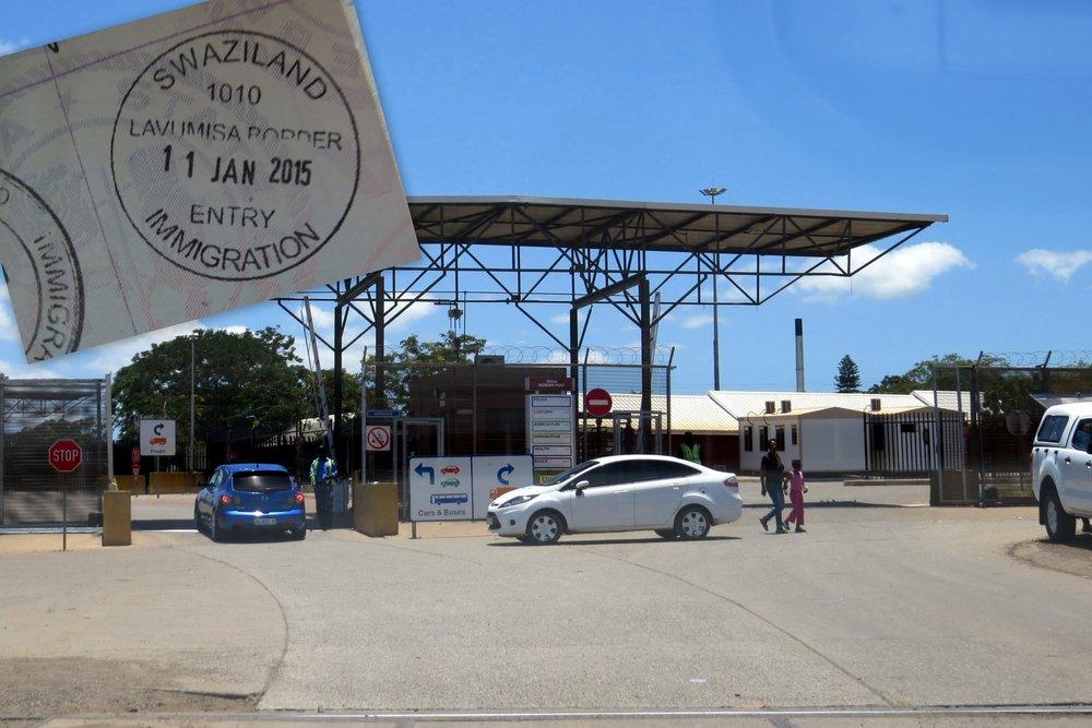 Entering Swaziland
