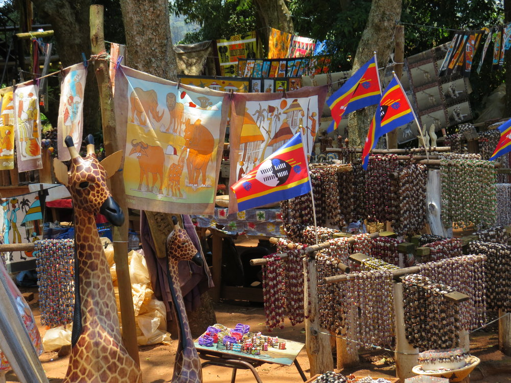 Crafts markets had various offerings