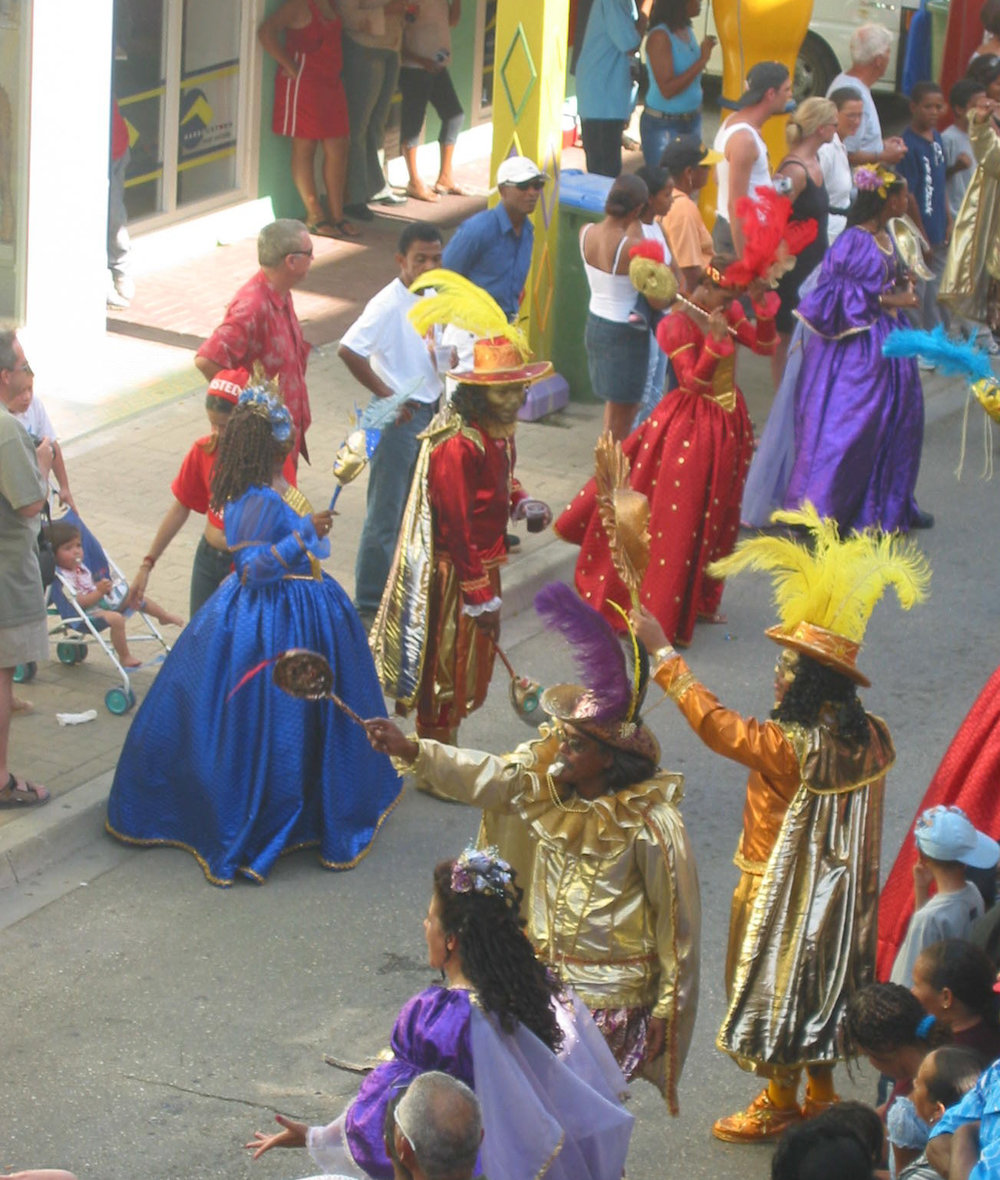 Merry Carnival revelers