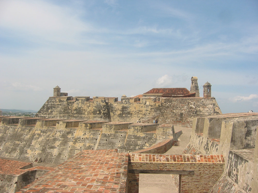 Castillo San Felipe de Barajas in Cartagena, Colombia