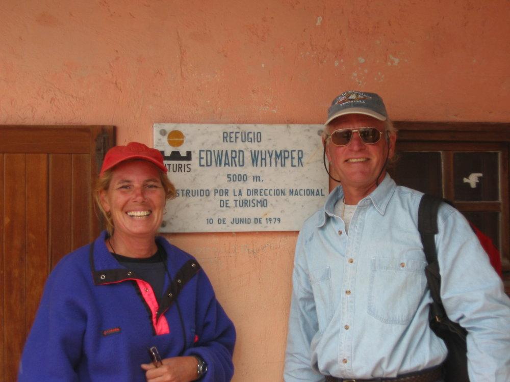 Chimborazo - First hut