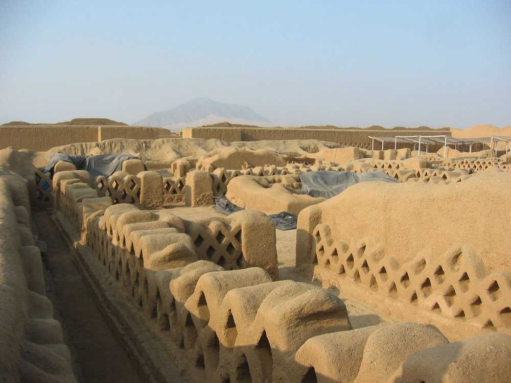 Ancient city - Chanchan, Peru