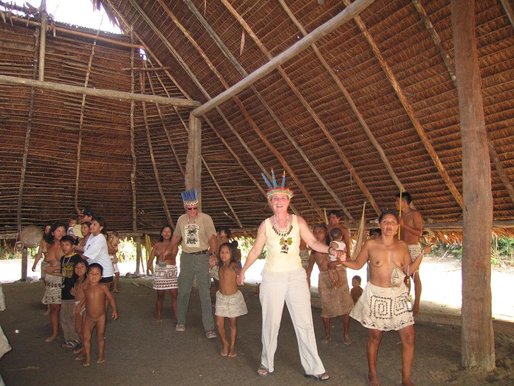 Anaconda dance with the Bora people