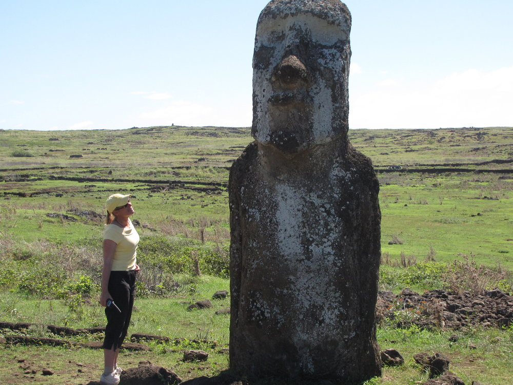 Yup, moai are pretty big!