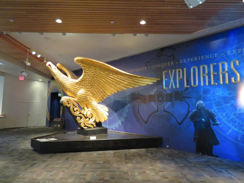 The Bellamy Eagle - figurehead of the USS Lancaster