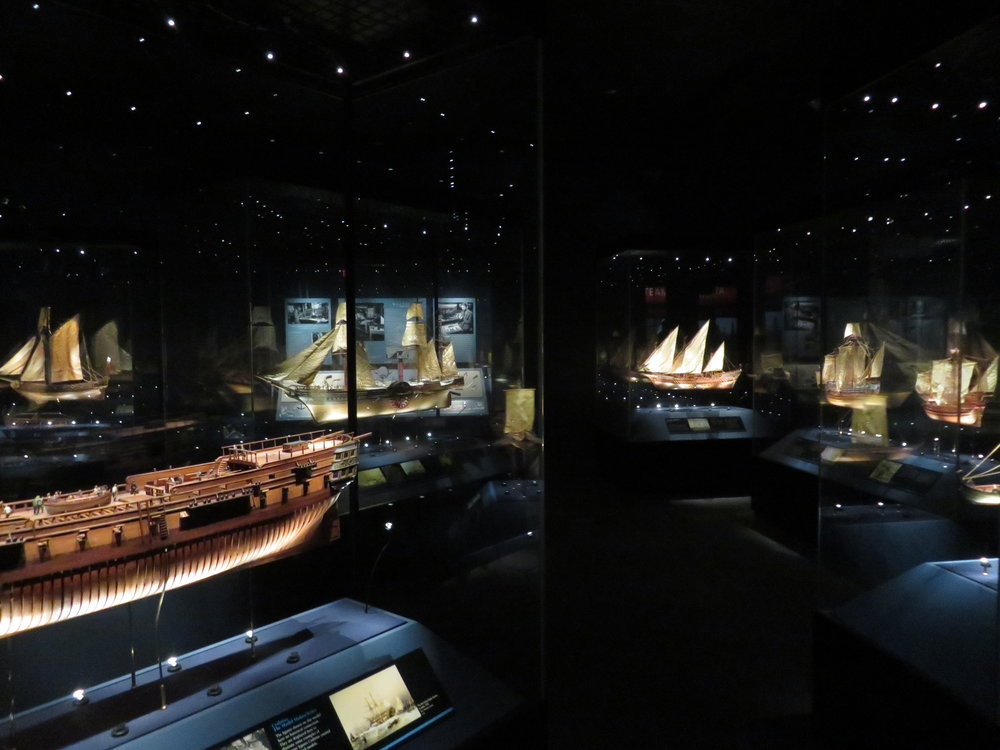 Crabtree Gallery of model ships
