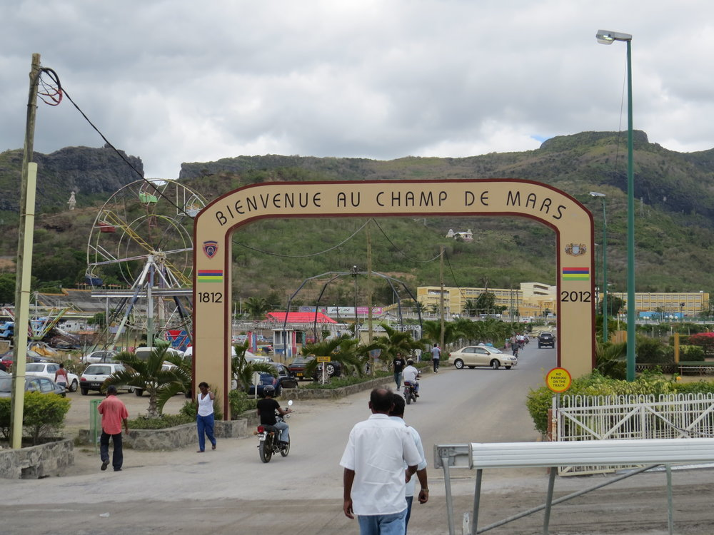 Champ de Mars Racetrack in Port louis, Mauritius