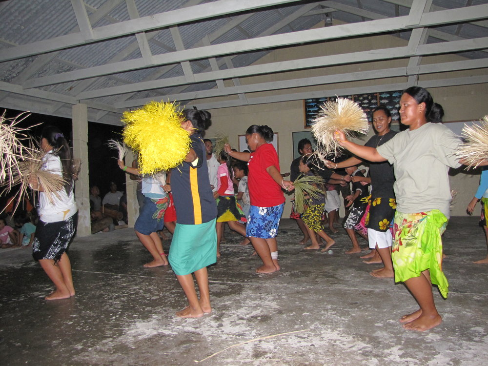 Dancing, an island tradition