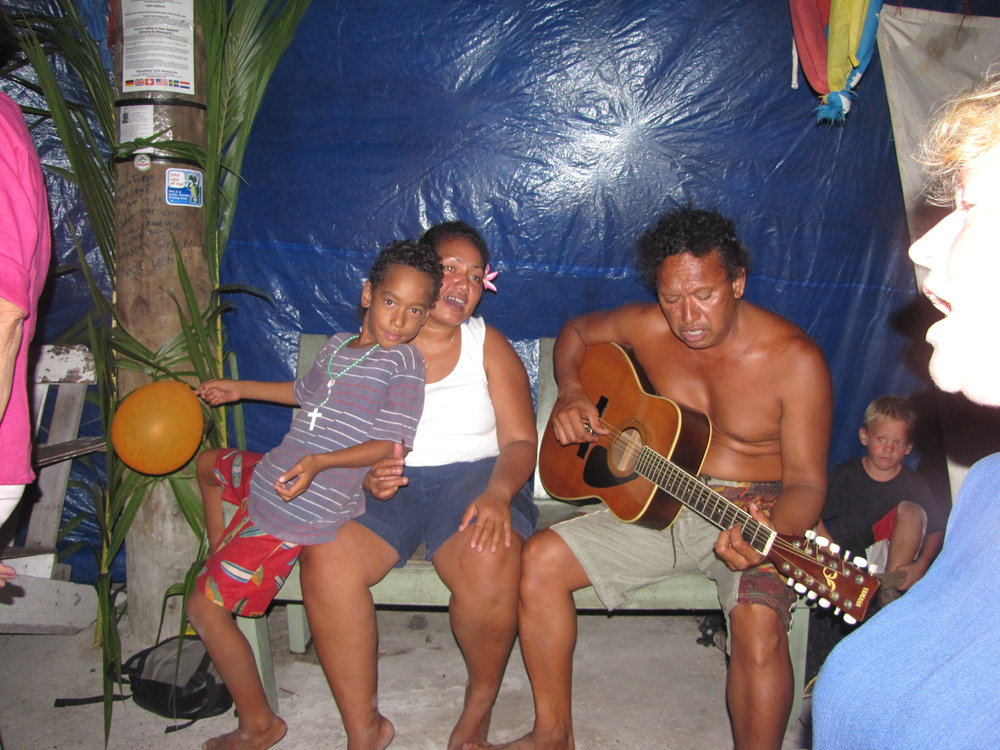 A little island music