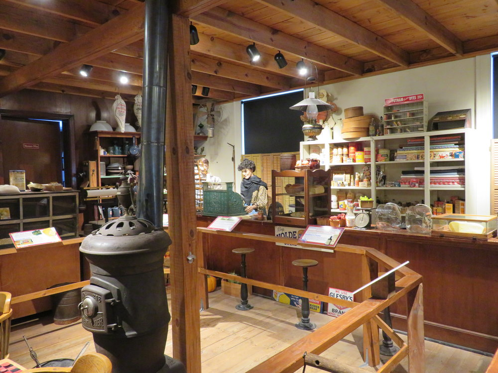 "The ""general store"" was chock full of interesting memorabilia."