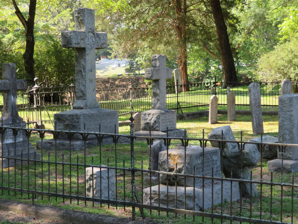 Centuries of Virginians are buried here.