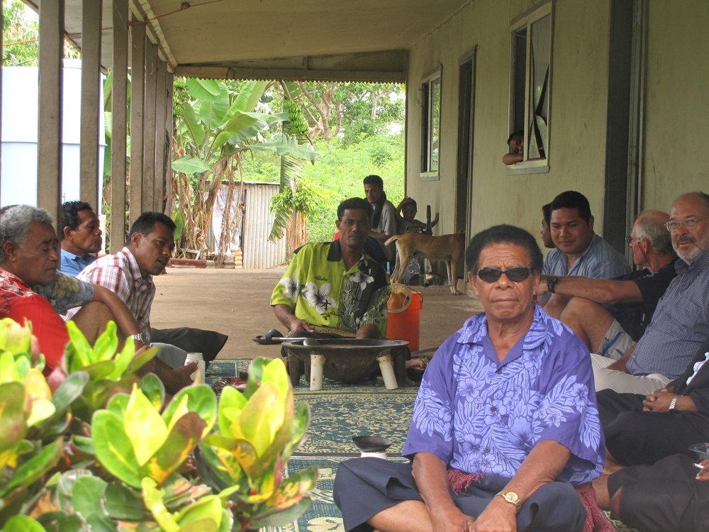 Men's kava circle