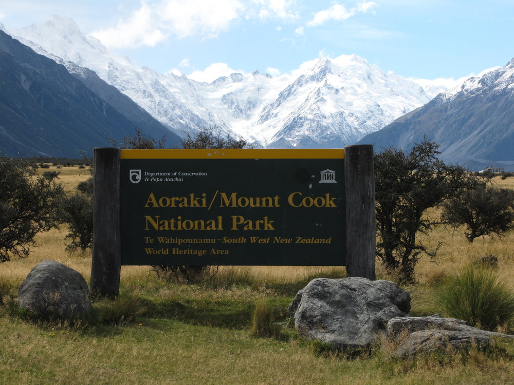 Aoraki / Mount Cook National Park was outstanding!