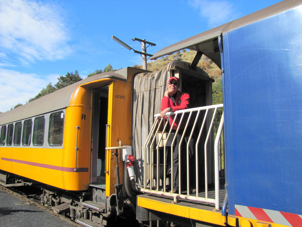 All aboard-Taieri Gorge Train