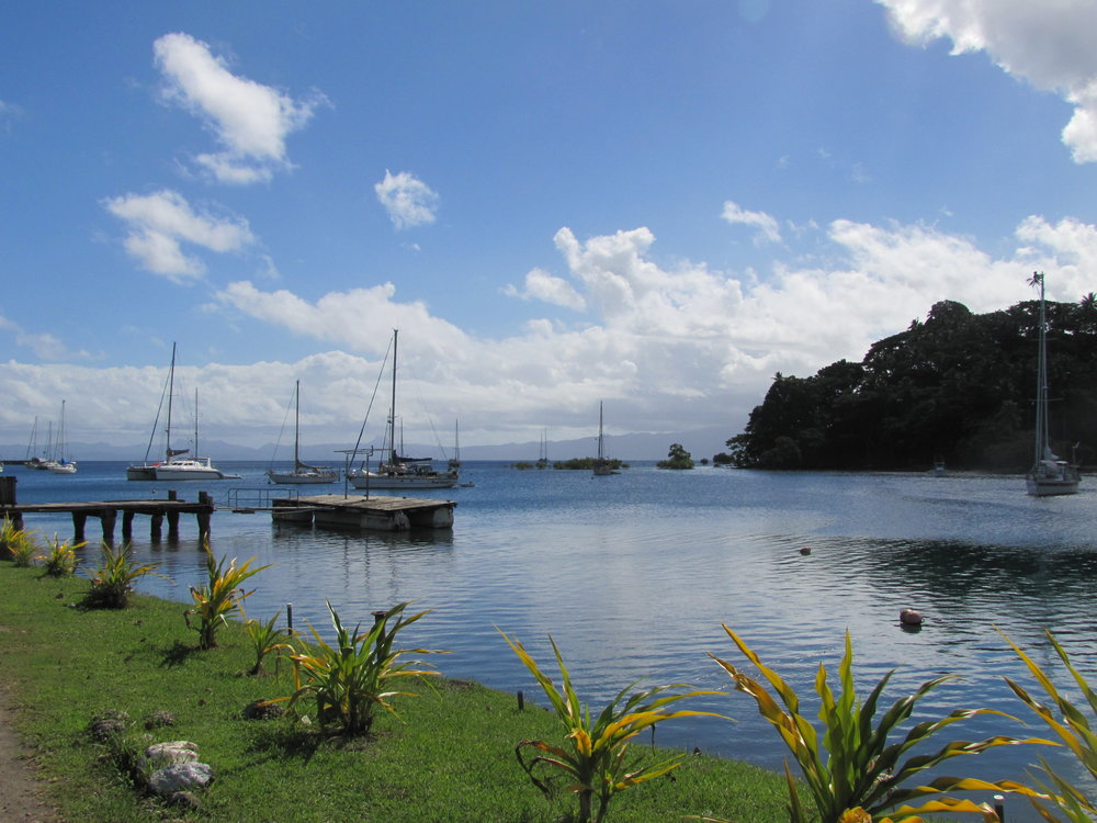 Anchorage in Savusavu was a gorgeous place!