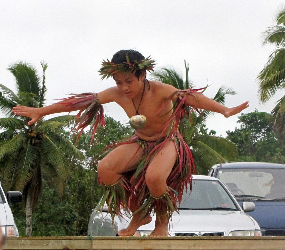 Polynesian dancing