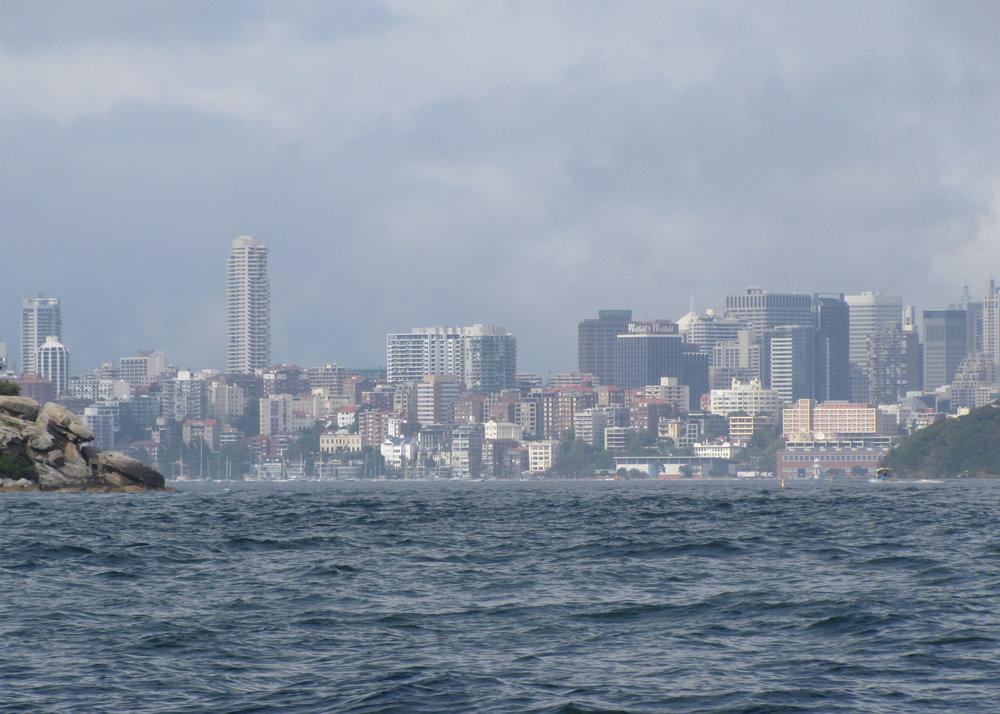 Sydney Heads ... entering Sydney Harbour