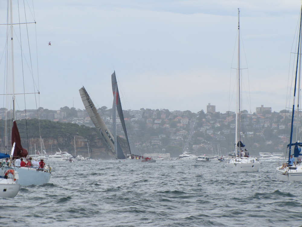 Sydney to Hobart Race 2012 begins!