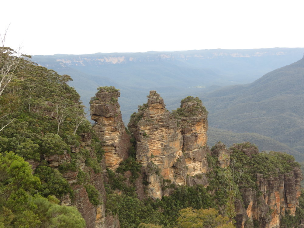 Three Sisters view in Katoomba, Blue Mountains