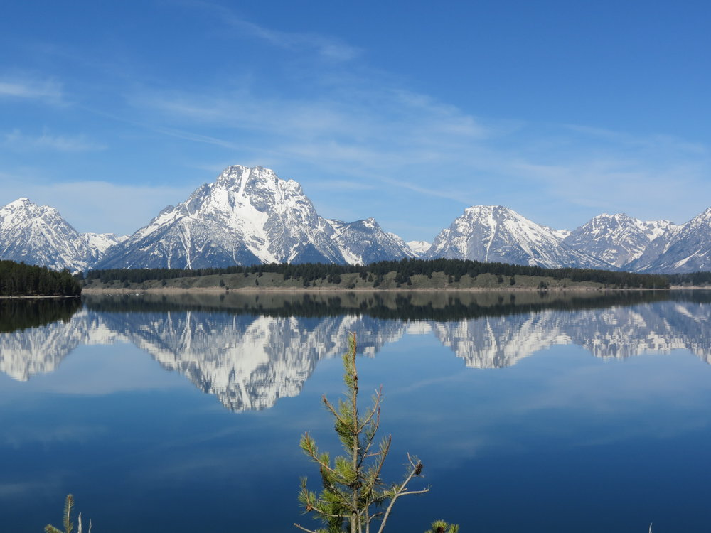 Grand Teton National Park - Jackson Lake ... just one of the 30 US national parks visited during our 2012 American Odyssey.
