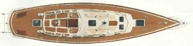 Liberty 458 standard deck plan