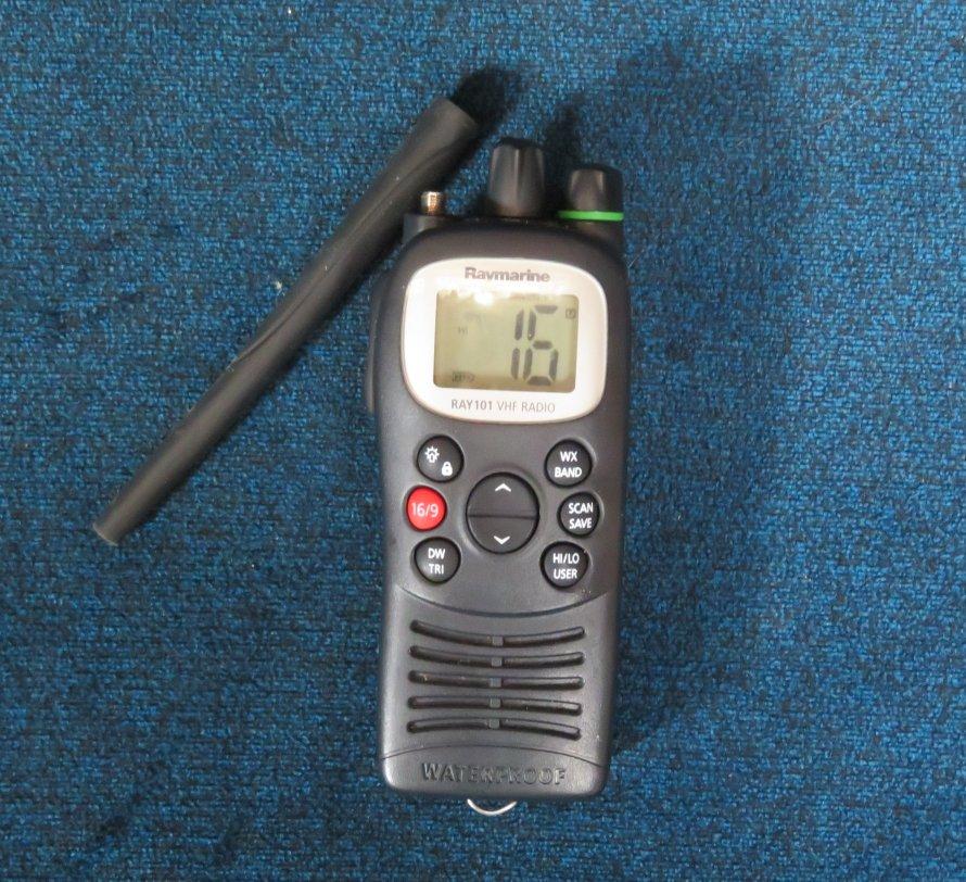 Handheld, waterproof VHF