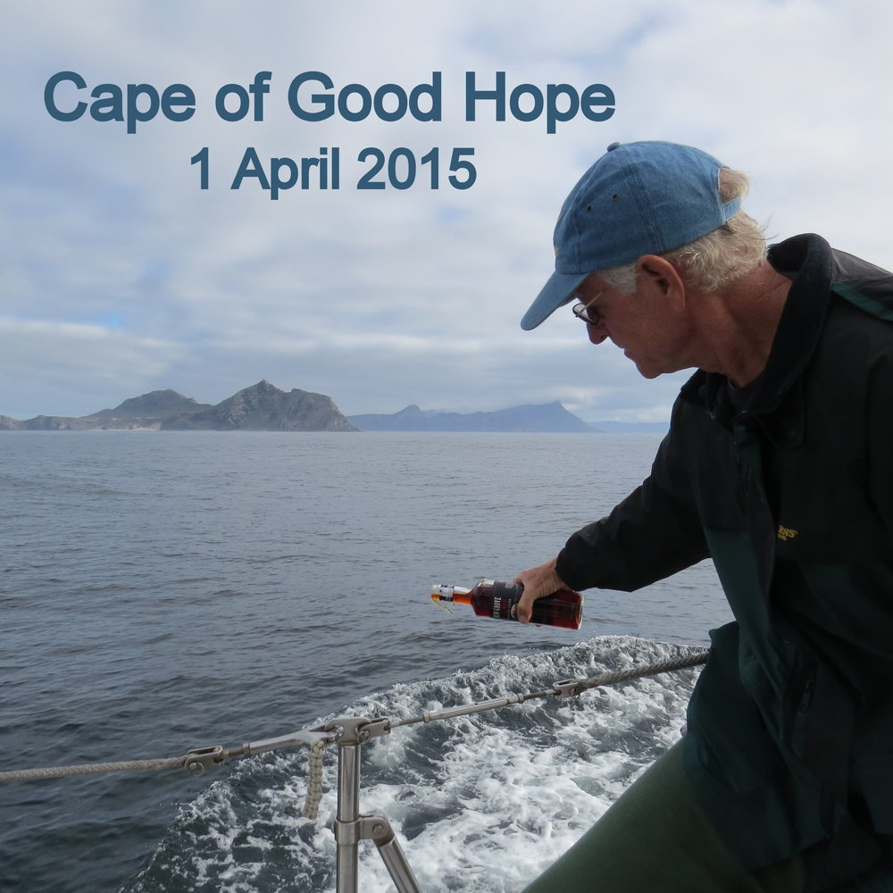 Rounding the last of the Five Great Southern Capes