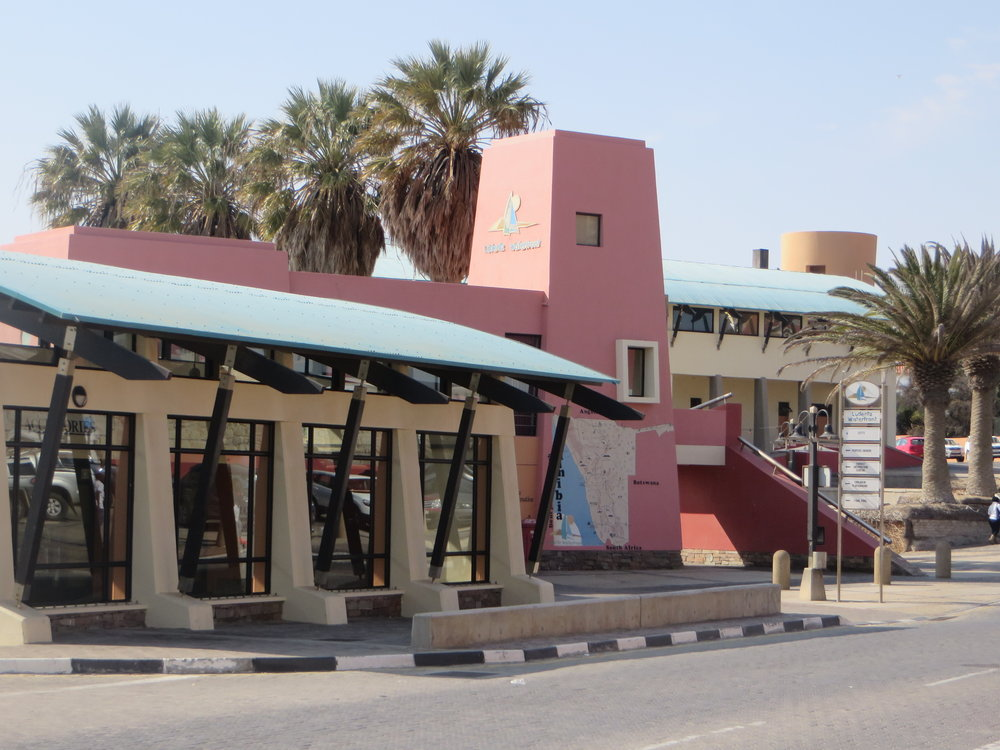 Waterfront mall