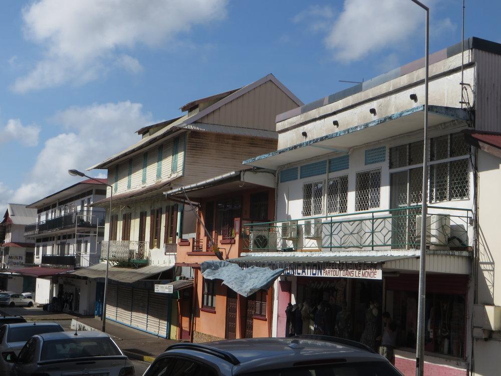 Cayenne street scene