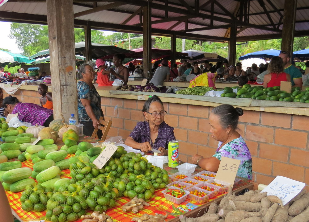 Hmong market in Cacao