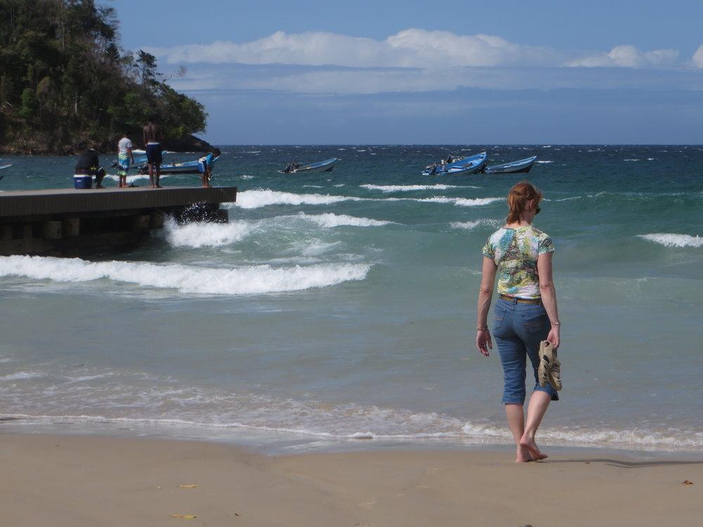 Lin at Maracas Village Beach