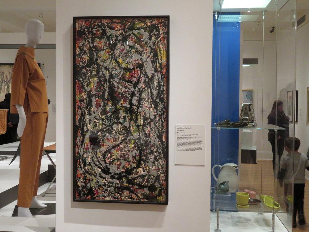 "Jackson Pollock - ""Magic Lantern"" - 1947"