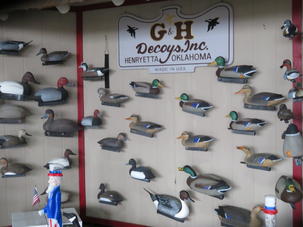 Who knew there were so many ducks?