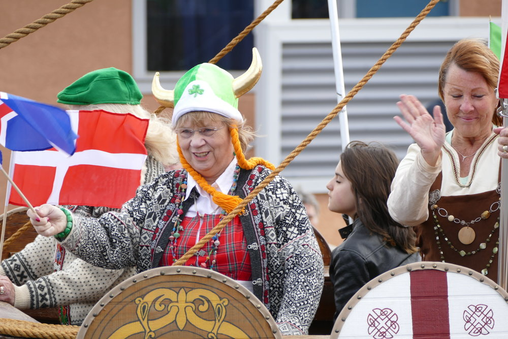 Children of Norway celebrated St. Pat, too!